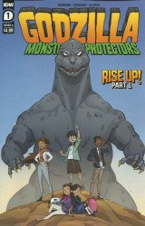 IDW Publishing's Godzilla: Monsters & Protectors Issue # 1