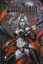 Coffin Comics's Lady Death: Blasphemy Anthem Hard Cover # 1ks