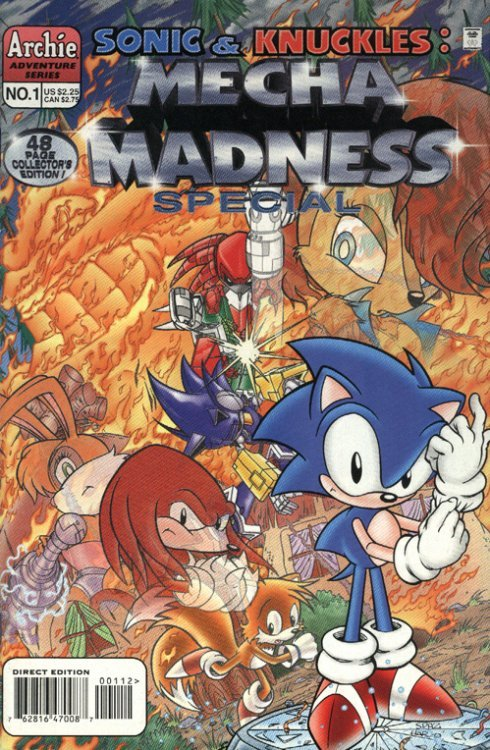 Sonic & Knuckles: Mecha Madness Special Issue # 1-2nd print