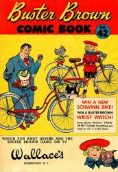 Buster Brown Shoes's Buster Brown Comics Issue # 42wallaces