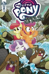 IDW Publishing's My Little Pony: Spirit Of The Forest Issue # 2b