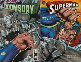 DC Comics's Superman / Doomsday: Hunter / Prey Issue # 3b