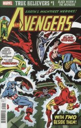 Marvel Comics's True Believers: Black Widow & The Avengers Issue # 1