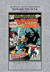 Marvel Comics's Marvel Masterworks: Howard the Duck Hard Cover # 1