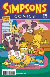 Bongo Comics's Simpsons Comics Issue # 244