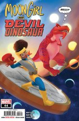 Marvel Comics's Moon Girl and Devil Dinosaur Issue # 44