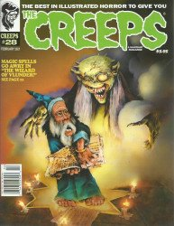 Warrant Publishing's The Creeps Issue # 28