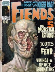 Rat House Comics's Fiends Issue # 5b