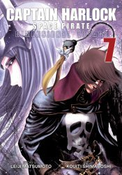 Seven Seas Entertainment's Captain Harlock Space Pirate: Dimensional Voyage Soft Cover # 7