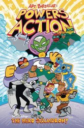 Action Lab Entertainment's Powers in Action TPB # 1