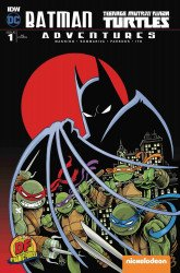 IDW Publishing's Batman / Teenage Mutant Ninja Turtles Adventures Issue # 1df-a