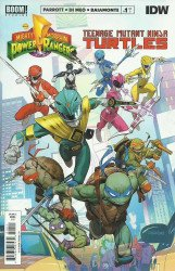BOOM! Studios's Mighty Morphin Power Rangers/Teenage Mutant Ninja Turtles Issue # 1