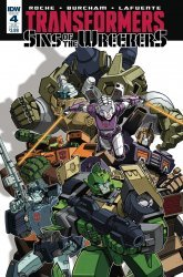 IDW Publishing's Transformers: Sins of the Wreckers Issue # 4sub