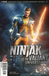Valiant Entertainment's Ninjak vs The Valiant Universe Issue # 3c