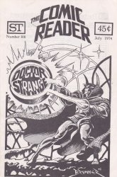 Street Enterprises's The Comic Reader Issue # 108