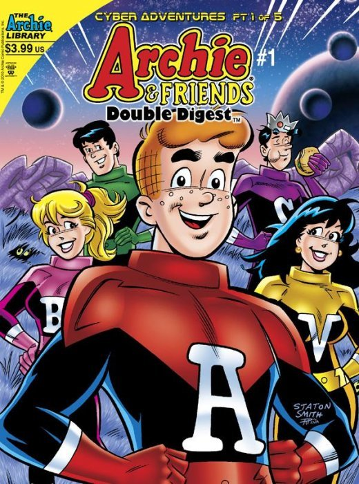 Archie Comics Groups Friends Double Digest Issue 1