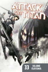 Kodansha Comics's Attack on Titan Soft Cover # 33