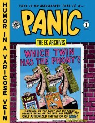 Dark Horse Comics's EC Archives: Panic Hard Cover # 1