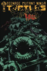 IDW Publishing's Teenage Mutant Ninja Turtles: Shredder in Hell Issue # 5ri