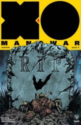 Valiant Entertainment's X-O Manowar Issue # 12bat comics