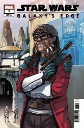 Marvel Comics's Star Wars: Galaxy's Edge Issue # 3b