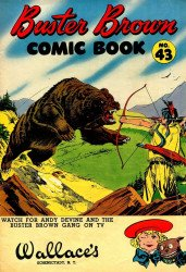 Buster Brown Shoes's Buster Brown Comics Issue # 43wallaces