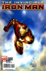 Marvel Comics's Invincible Iron Man Issue # 1f