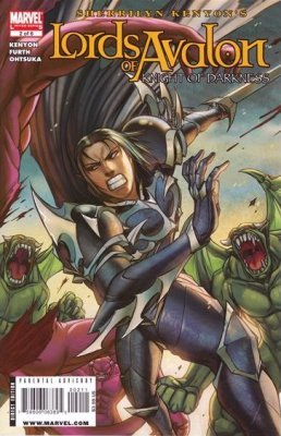 Marvel Comicss Lords Of Avalon Knights Darkness Issue 2