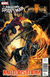 Marvel Comics's Amazing Spider-Man / Ghost Rider: Motorstorm Issue # 1b