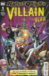 DC Comics's Harley Quinn's: Villain of the Year Issue # 1