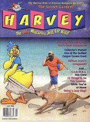 Harvey's Harvey: The Magazine for Kids Issue # 8