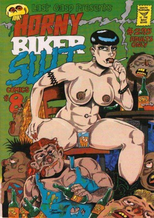 Want horny biker slut comics for