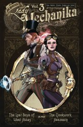 Benitez Productions's Lady Mechanika Oversized Edition Hard Cover # 3