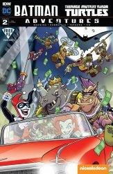 IDW Publishing's Batman / Teenage Mutant Ninja Turtles Adventures Issue # 2fried pie