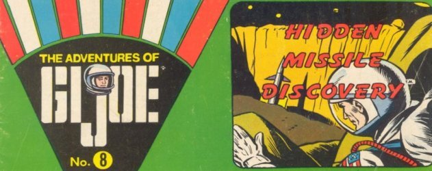 Hasbro's The Adventures of G.I. Joe Issue # 8