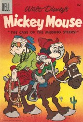 Dell Publishing Co.'s Mickey Mouse Issue # 53b