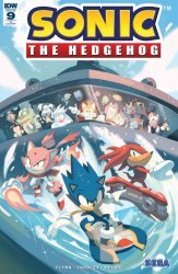 IDW Publishing's Sonic the Hedgehog Issue # 9ri