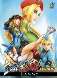 UDON Entertainment's Street Fighter Legends: Cammy Hard Cover # 1