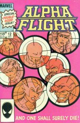 Marvel Comics's Alpha Flight Issue # 12