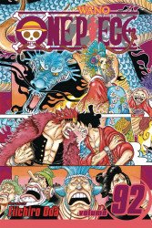 Shonen Jump Manga's One Piece Soft Cover # 92