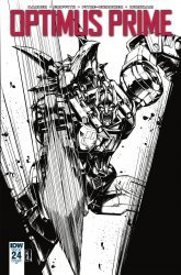 IDW Publishing's Optimus Prime Issue # 24ri