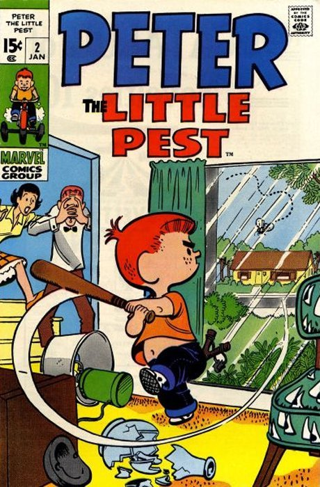 Marvel's Peter The Little Pest Issue # 2