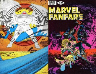Marvel Comics's Marvel Fanfare Issue # 2