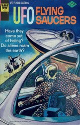 Gold Key's UFO Flying Saucers Issue # 7whitman