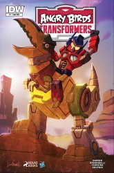 IDW Publishing's Angry Birds Transformers Issue # 1sub