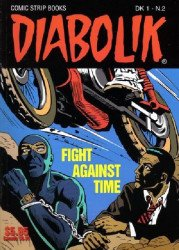Scorpion Productions Inc.'s Diabolik Soft Cover # 2