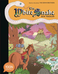Toon Graphic's The White Snake Hard Cover # 1