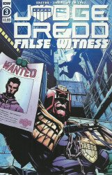 IDW Publishing's Judge Dredd: False Witness Issue # 3