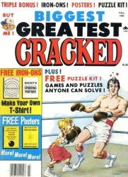 Major Magazines's Biggest Greatest Cracked Issue # 17