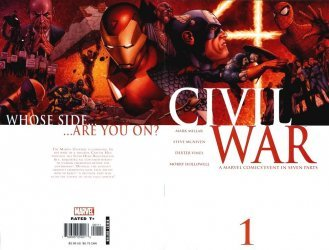 Marvel Comics's Civil War Issue # 1